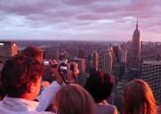 Top of The Rock – ロックフェラーの展望台「からエンパイア・ステート・ビルディングを眺めよう