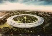 Appleが建設を予定している宇宙船のような新キャンパス