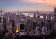 超高層ビルが建ち並ぶ2030年ミッドタウンの風景
