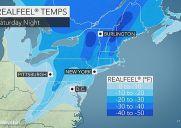 今年は極寒のバレンタイン!?週末ニューヨークは氷点下16度に!