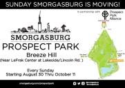 「スモーガスバーグ(Smorgasburg)」がプロスペクトパークに開催場所変更