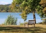 湖が広がるアップステートの州立公園「ロックランド・レイク州立公園」