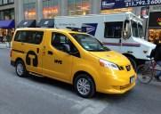 日産「NV200」が9月1日からNY市の標準タクシーに