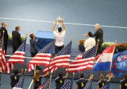 全米オープン決勝戦で錦織選手を応援してきました