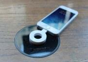スターバックスのパワーマットで携帯を充電する方法