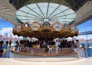 ブルックリン・ブリッジ公園のメリーゴーランド「Janes Carousel」に乗ろう