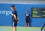 全米オープンテニスを影で支えるボールパーソン