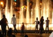 ブルックリン美術館の噴水