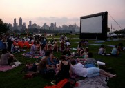 Socrates Sculpture Park Outdoor Cinema