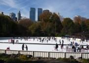 セントラルパークのスケートリンク「Wollman Rink 」