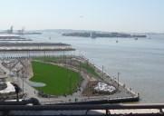 再開発著しいウォーターフロント「ブルックリン・ブリッジ・パーク」