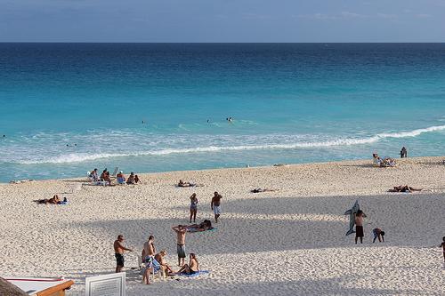 カンクン(Cancun)旅行記 - エメラルドブルーのカリブ海が広がるリゾート(その1)