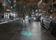 Citi Bikeが自転車マークを道路に照らすユニークなライトの導入を計画中