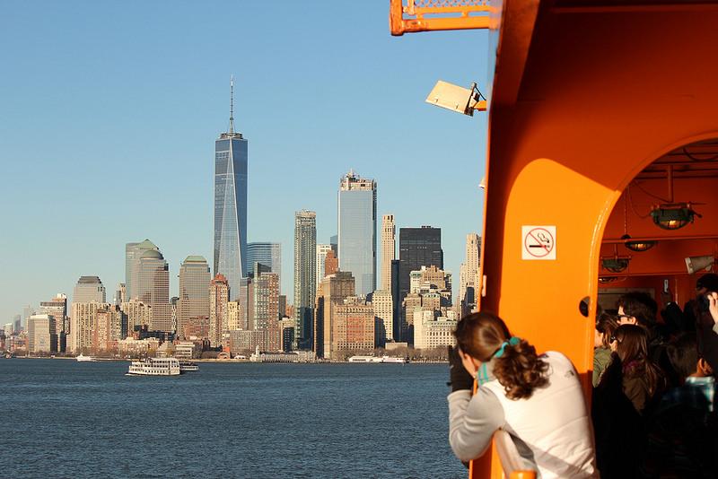 スタテン島フェリーに乗ってニューヨークの海を無料でクルーズしよう