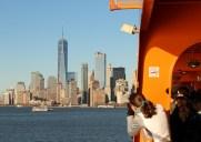 無料で乗船できる通勤用フェリー「スタテンアイランドフェリー」