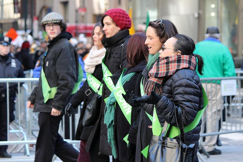 The NYC St. Patricks Day Parade