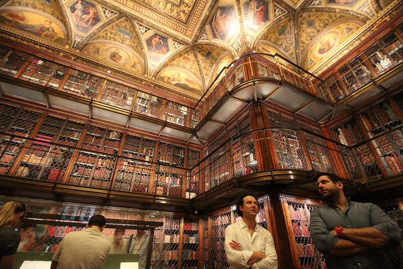 豪華な図書室が必見の「モルガン・ライブラリー」