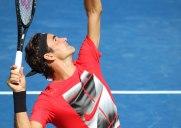 USオープン出場のロジャー・フェデラー選手の練習を見てきました