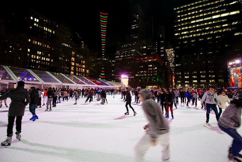 今年こそニューヨークでスケートを楽しもう!人気スケートリンク2017年のオープン日