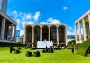 リンカーンセンターに登場した緑の広場「The Green」