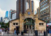 1904年オープンの歴史的な駅「72nd street station (1/2/3)」