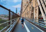 マンハッタンとクイーンズを繋ぐカンチレバー橋「Queensboro Bridge」