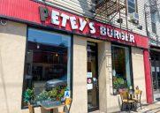 カリフォルニアスタイルのハンバーガーが味わえる店「Petey's Burger」