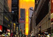 34丁目の夕焼け