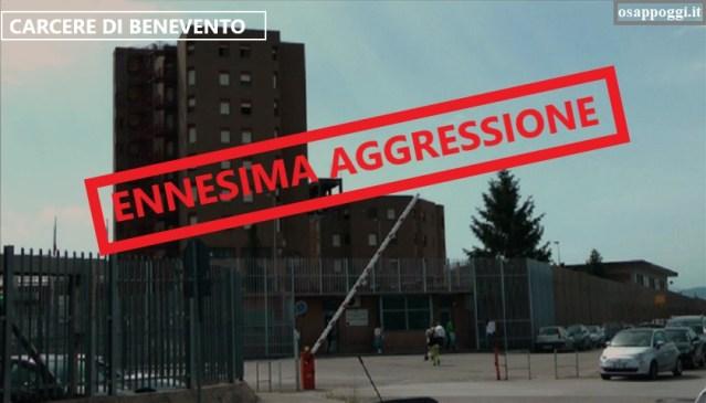 CARCERE DI BENEVENTO – AGGREDITI ALTRI POLIZIOTTI PENITENZIARI!!!