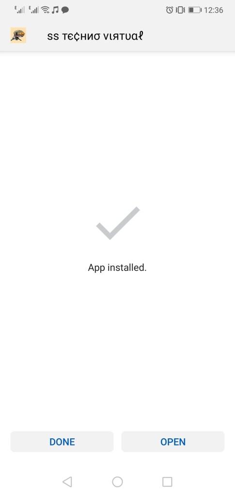 Screenshot of SS Technical Virtual Apk