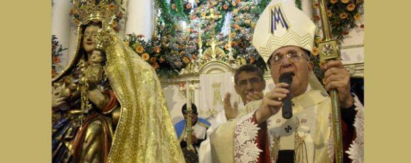 Missas e a tradicional procissão noturna foram os pontos altos da festa católica. Foto: ASCOM/PMS Waldo Siqueira.