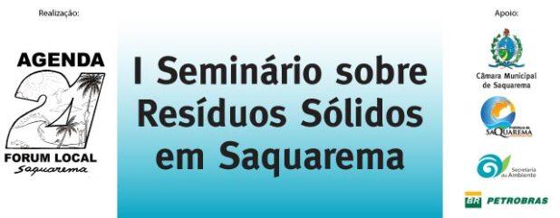I Seminário sobre Resíduos Sólidos de Saquarema