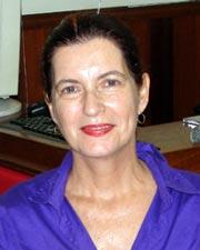 A bióloga Lisia Vanacor do IBAMA