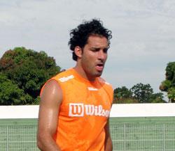 O atacante Frontini foi destaque do Boavista como um dos principais artilheiros do campeonato. Foto: Paulo Lulo