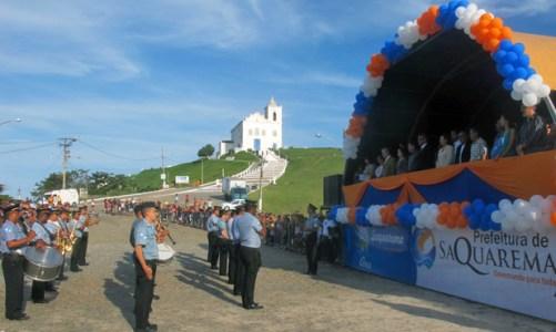 Saquarema comemora seu aniversário de 170 anos com desfile sobre as mudanças climáticas