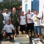 Batalhão Florestal, fiscais municipais e membros da Colônia