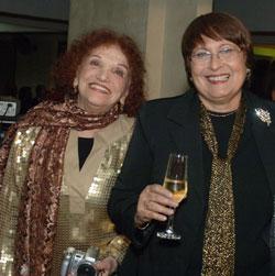 As premiadas Messody Benoliel e Beatriz Dutra em Minas Gerais