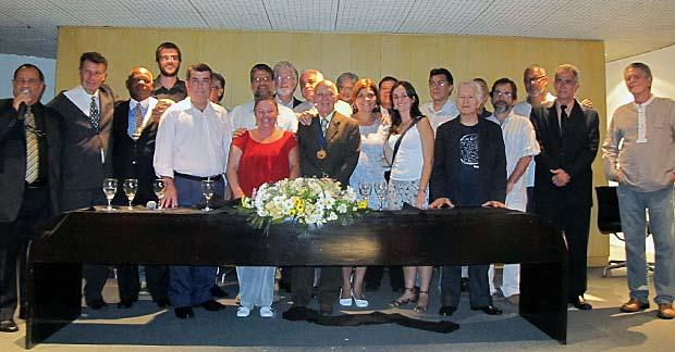 A nova diretoria do sindicato é presidida pelo jornalista Continentino Porto. (Foto: Edimilson Soares)