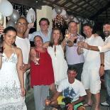 Reveillon na casa de Luiza Amorim