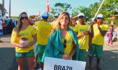 Carol Fernandes representa o Brasil no Panamá