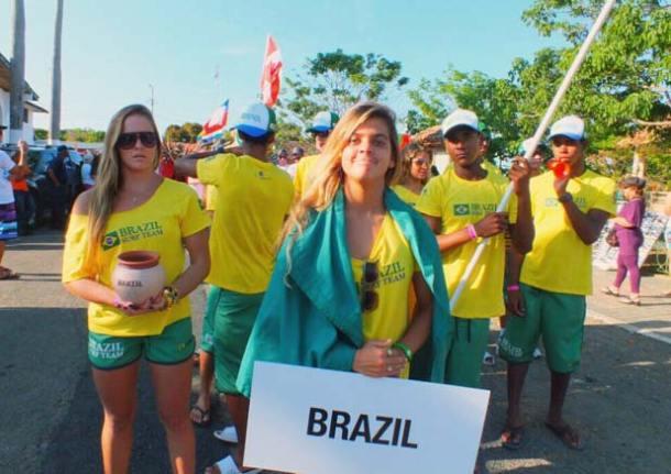 A surfista saquaremense Carol Fernandes representou o Brasil e entre os 12 atletas brasileiros foi a que mais avançou na disputa na Playa Venao, Panamá.
