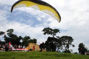 A rampa de voo livre de Sampaio Corrêa é considerada uma das melhores do país. (Foto: Antônio Carlos de Azevedo)