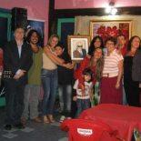 Clima aconchegante para homenagear José Bandeira, entre amigos e parentes. (Foto: Divulgação)