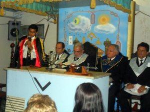 O médico Dr. Elpídio Canellas foi reeleito para mais um mandato na Loja Maçônica. (Foto: Revista Horizonte)