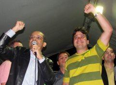 O jovem médico cardiologista e vereador Pedro Ricardo que, apesar de toda a simpatia, apresentou um desempenho abaixo do esperado no início da campanha. (Foto: Paulo Lulo)