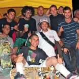 ASS e amigos que realizaram o Torneio. (Fotos: N. Gibão)