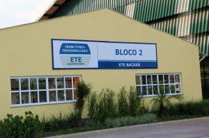 Uma das instalações da ETE Bacaxá que sediou o primeiro evento envolvendo artes, educação e oficinas. (Foto: Edimilson Soares)