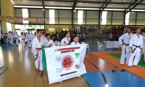 Campeonato de Karate fortalece Associação de Karate-do