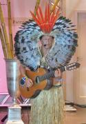 Índio acreano no Congresso. (Foto: Dulce Tupy)