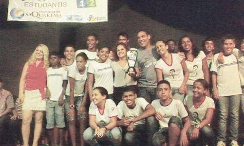 Premiação pelos Jogos Estudantis 2012